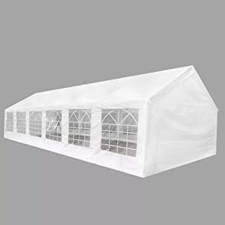 Tidyard 40' x 20' White Outdoor Gazebo Canopy Wedding Party Tent Commercial Events Party Heavy Duty Tent