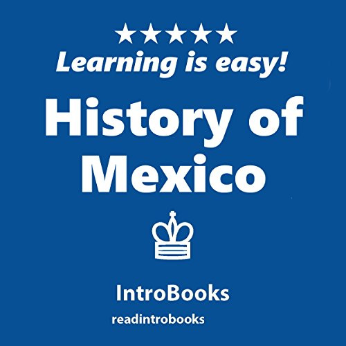 History of Mexico audiobook cover art
