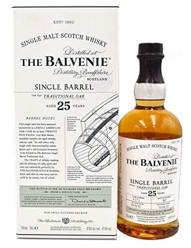 The Balvenie Whisky Single Barrel Traditional Oak 25 Jahre 0,7l