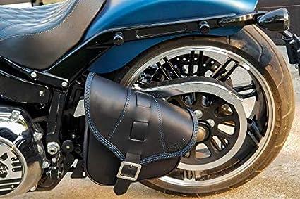Motorrad Hecktasche SX70 für Harley Davidson Softail Low Rider S