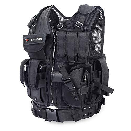 Tactical Vest Outdoor Combat Training Vest by Yakeda