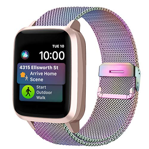 Funbiz Metal Correa Compatible con Apple Watch 38mm 40mm 42m