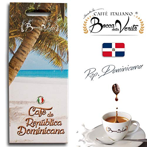 Coffee Beans Espresso Republica Dominicana (Santo Domingo Carmen AA) | 1Kg Pack | Bocca Della Verita
