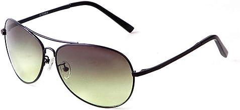 Durante el día de la Noche de Doble finalidad del Marco de los vidrios de conducción Gafas de Sol de los Hombres de Peso Ligero de protección UV400 Gafas de Sol cuadradas