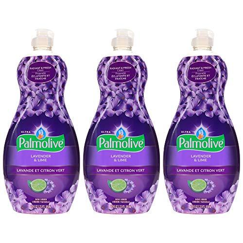 Palmolive Ultra Lavender & lime, Dish Soap - 60 Fl Oz - 3 Pack x 20 FL Oz / 591 mL Each