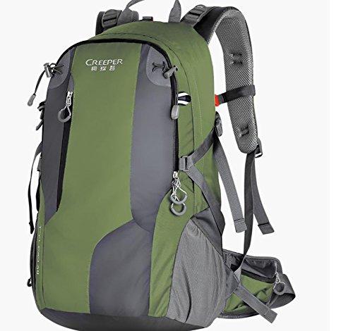Sac à dos Outdoor escalade Sac épaule nouvelle 2016 pour hommes et femmes-tourisme randonnée sac à dos 40 l , tender green