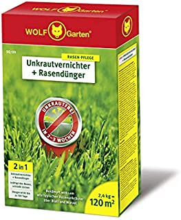 WOLF-Garten – 2-in-1: Unkrautvernichter plus Rasendünger SQ 120; 3840720