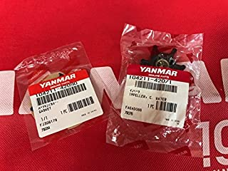 Yanmar Kit OEM Impeller 104211-42071 & Gasket 104211-42090 2GM (20) 3GM (30) Genuine