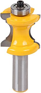 Yakamoz 1/2 Inch Shank Bullnose Bead Column Face Molding Router Bit For Woodworking Tools