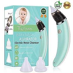 TuKnon CT-01 Baby Nasensauger, USB-Aufladung - Nasalschleim-Entferner Sicherer und schneller