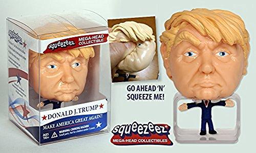 Donald J. Trump Squeezeez: Mega Head Collectible, Make America Great Again by Breygent Marketing