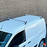 2 Bar Rack System for The Transit Connect 2014-On White