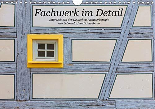 Fachwerk im Detail (Wandkalender 2021 DIN A4 quer)