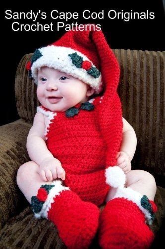 Infant Santa Outfits for Boys and Girls Crochet Pattern (English Edition)