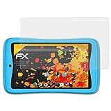 atFoliX Pellicola Protettiva Compatibile con Kurio Tab Advance Protezione Pellicola dello Schermo, antiriflesso e Ammortizzante FX Pellicola Proteggi (2X)