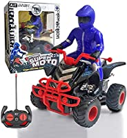 Kpptyd RCドリフトオートバイ高速レーシングリモートコントロールスクーターオートサイクルスタントクロスオフロード車トラック登山車教育子供誕生日クリスマスギフト子供のおもちゃ