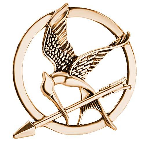 Oulensy El Broche Insignia De Los Juegos del Hambre Katniss Everdeen Cosplay Prop Sinsajo