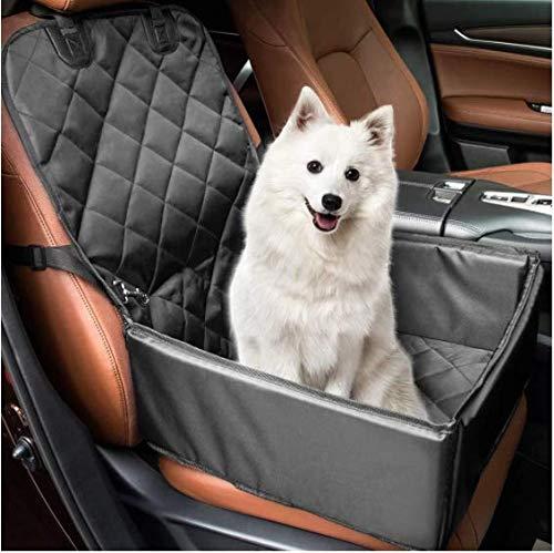 Lanke Dog Car Seat Cover Bag Impermeable Anti-Sucio Asiento Mat Dog Safe House Protector (Excluyendo Hebillas de Metal y cinturón de Seguridad)