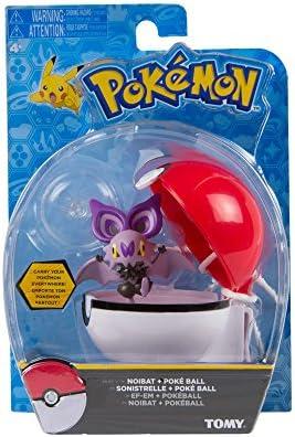POKEMON Clip /'N/' Carry Poke Ball NOIBAT and Poke Ball Figure Set NEW! POKEBALL