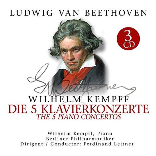 Beethoven:5 Klavierkonzerte/5 (3 CD)