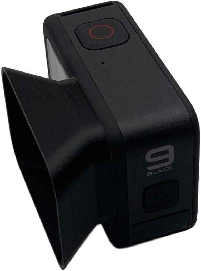 QKOO Austin Mall Lens Hood Ranking TOP4 for GoPro Hero Anti-Glare Hard Black Plastic 9 -