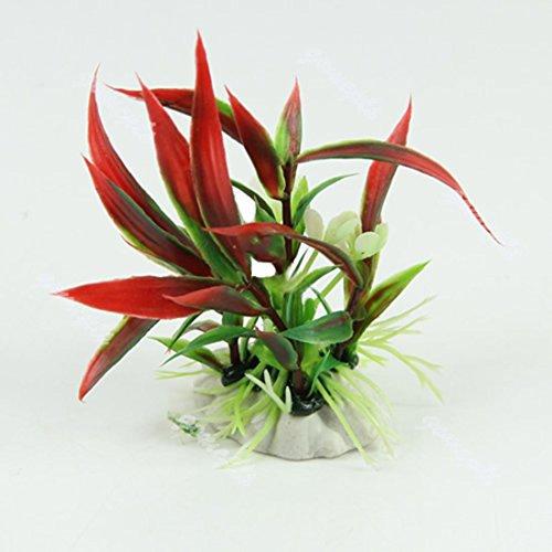 Plantes artificielles en plastique pour Aquarium Fiah...