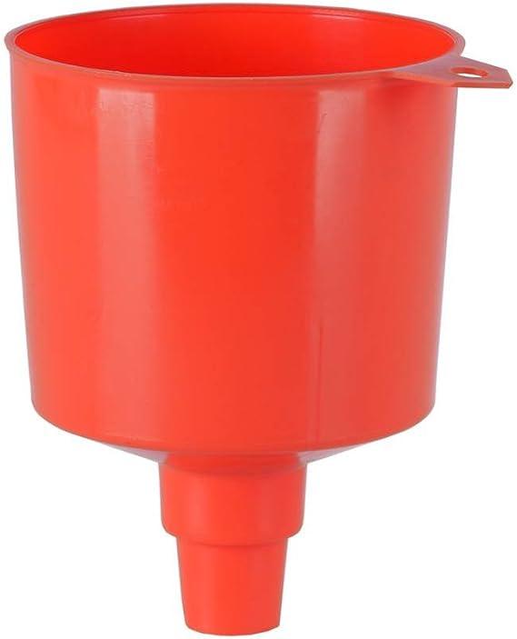 Sunnyflowk Embudo universal para autom/óvil con tubo blando Embudo de pl/ástico puede surtir para aceite Agua Combustible Gasolina Gasolina Accesorios para autom/óvil negro