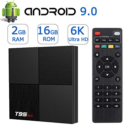EASYTONE Android 7.1.2 TV Box, Smart TV Box Quad-core 64 Bits /1GB+8GB Supporting 4K (60Hz) Full...