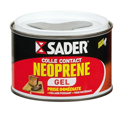 Sader Colle Contact Néoprène Gel - Boîte 250 ml