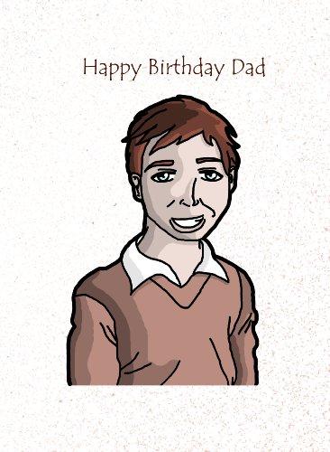 Sky Blue Greetings verjaardagskaart voor vader