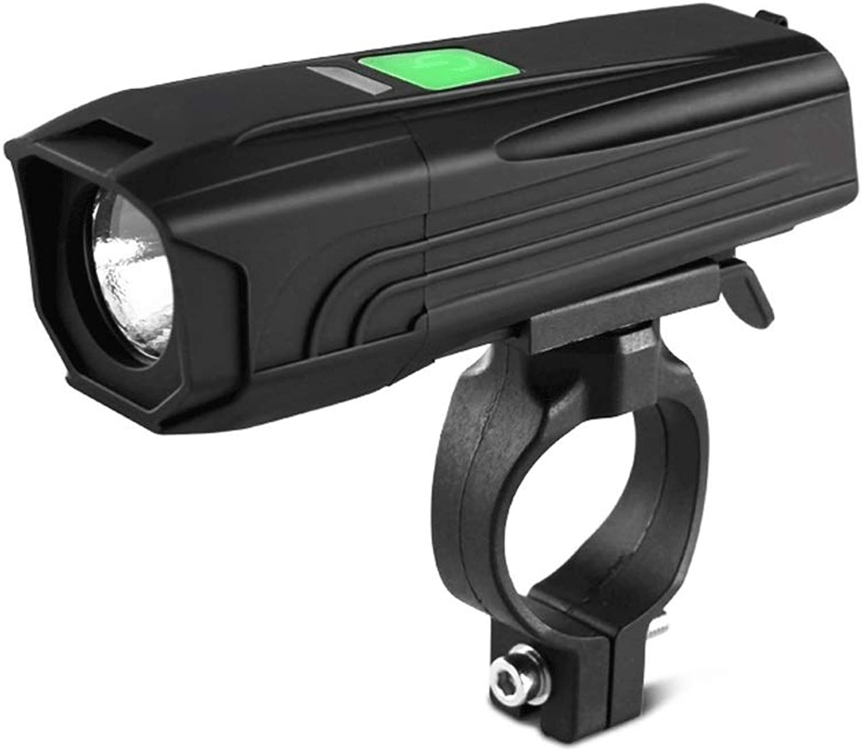 SpLYJ USB Rechargeable Bicycle Bicycle Headlight Bicycle Headlight Mountain Bike Light 1000 Lumen LED Flashlight 3 Modes Bicycle Lights