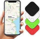 Buscador de Llaves, 4 Piezas Kimfly Buscador de artículos Smart Tracker Bluetooth Teléfono Tracker Smart Tag para Llaves, Mascotas Cartera teléfono Celular con Android y iOS