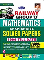 Kiran Railway Group D Mathematics Chapterwise Solved Papers 2000+ Objective Questions (English Medium) (3120)