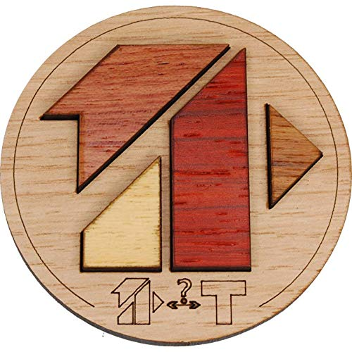 Mini Puzzle Siebenstein Spiele Bois Artisanal Wooden Brain Teaser Puzzles, Le T