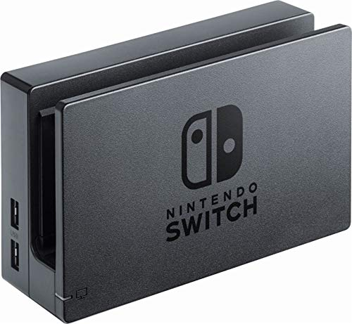 Nintendo Charging Dock Set with High Speed HDMI Cable and AC Adapter for Nintendo Switch, Black (Renewed)