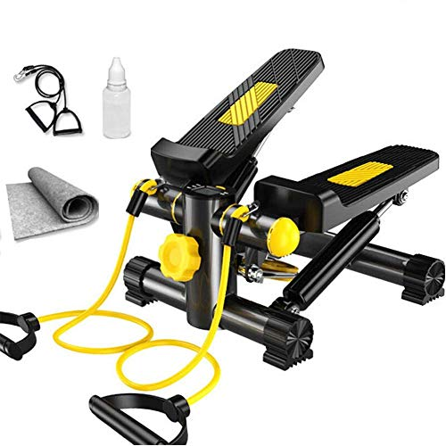 Fantastic Deal! Luckya Stepper Mini Stepper Indoor Fitness Stair Machine Twisting Action Stepper Sil...