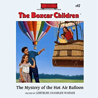 The Mystery of the Hot Air Balloon audiobook cover art