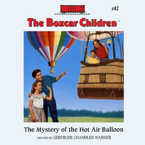 The Mystery of the Hot Air Balloon cover art