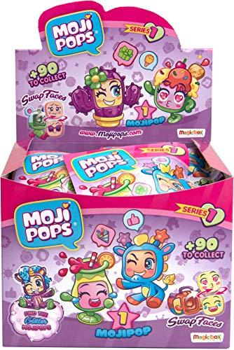 MOJIPOPS - Display de 24 figuras coleccionables MojiPops
