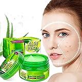 Ingzy Aloe Infusion Body Face Moisturizer - Crema hidratante natural con aloe Vera - Cuidado de la piel para pieles secas, antiarrugas, loción en crema para psoriasis y eczema para hombres y mujeres