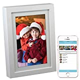 PhotoSpring 8 (16GB) 8-inch WiFi Cloud Digital Picture Frame - Battery, Touch-Screen, Plays Video and Photo...