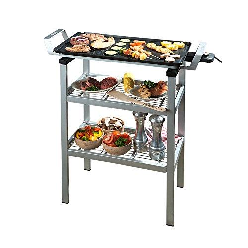 Bourgini Classic Duo Multi Plate Outdoor - Barbecue - Tafelgrill