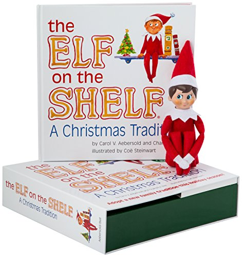 The Elf On The Shelf Boy Light-Boxset-English Book