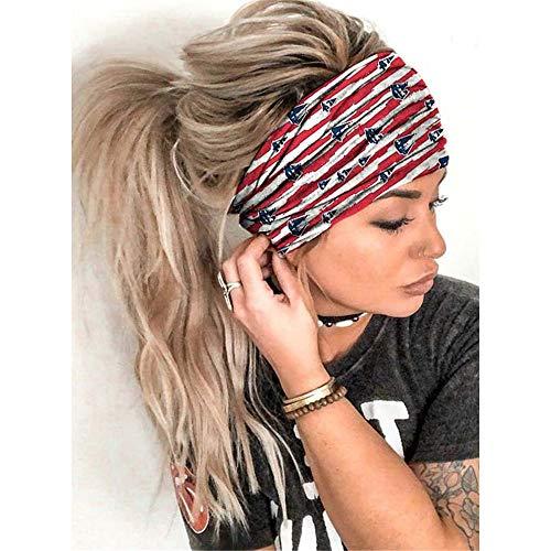 Bandas elásticas para el pelo, para fitness, gimnasio, correr, impresión 3D, turbante, deportes, yoga, cabeza de moda, color 05