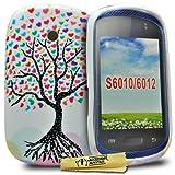 Accessory Master 5055716341256 - Carcasa para Samsung Galaxy Young S6010 (silicona), diseño de...