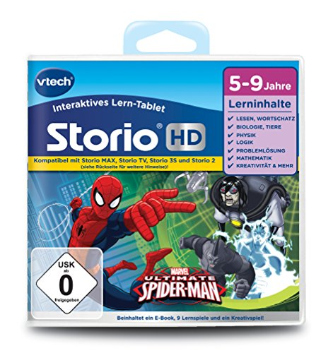 VTech 80-273004 - educatief spel voor tablet - de ultieme Spiderman (TV)
