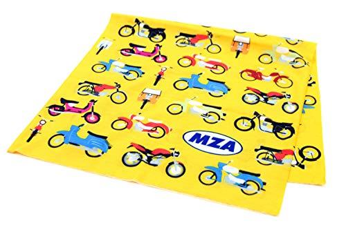 MZA Simson Schlauchtuch, Multifunktionstuch gelb Retro Stil