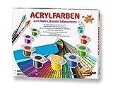 Schipper 605190741 Malen nach Zahlen, Acrylfarben Set mit 36 Farben, zum Malen, Basteln und Dekorieren
