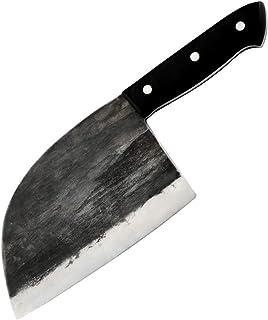 Vegetal cuchillo de cocina de alto carbón carnicero Cuchillo forjado hecho a mano del cocinero cuchillos de cocina profesional determinado china cocina la herramienta Cuchilla ( Color : Knife Only )