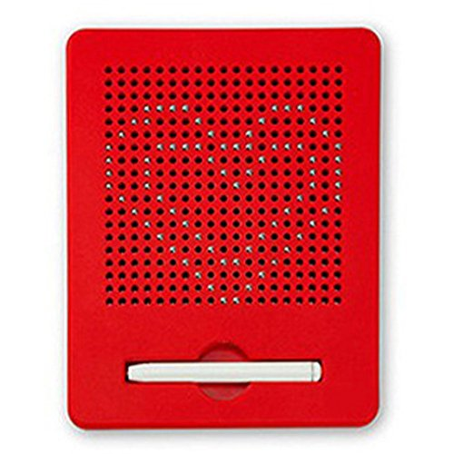 OFKPO Pizarra Magnética Portátil con Bola de Acero, Tableros de Dibujo Magnéticos para Niños